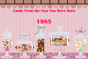 Candy from the year you were born - 1985